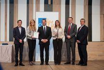 CSR Hungary Díj / A Magyar Üzleti Felelősség díja, a CSR Hunngary díj 2007-ben került megalapításra. 2008-ban került meghirdetésre. Honlap: http://www.csrhungarydij.eu