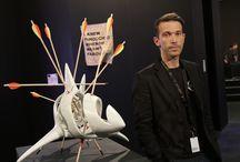 contemporary sculpture / contemporary sculptures by the artist John Bizas