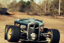 hot / rat rods, pin up