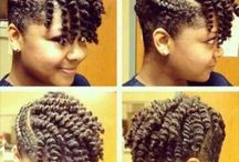 Protective styles / Hair styles that protect your natural hair