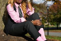 She Got that Style--Black Trousers / How to style/what to wear with black trousers or black pants