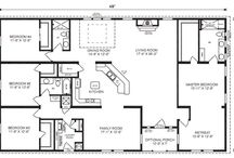 Floor plans with 4 bedroom.