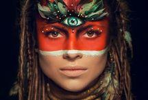 make-up: Facepaint