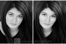{KC} Photo Retouching - Before & After / Photoshop retouching, before and after portraits! / by KC Photography Studio