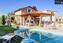Villas in Hersonissos, Crete / Luxury and Traditional Holiday Villas in Hersonissos