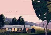 Illustration // Trees