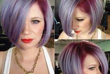 Lilavé vlasy
