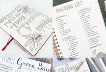 Travel journal / Inspiration for travel journaling
