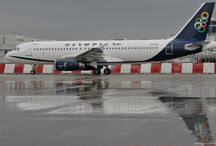 Olympic Air SX-OAI A320-232 / Olympic Air SX-OAI A320-232 Rainy Days ATH/LGAV 27/10/2010 lsd Aegean Airlines