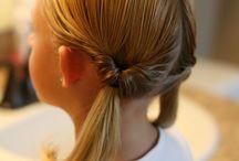 + LITTLE GIRL HAIR +
