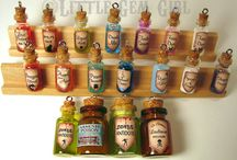 Cork Glass Mini Bottles