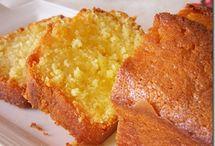 Cake sucrée