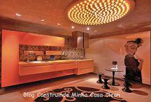 Cozinhas Ousadas e Modernas! / Veja + Inspirações e Dicas de decoração no blog!  www.construindominhacasaclean.com