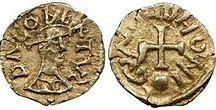 Dagobert II (652 +679) Roi d'Austrasie (676-679) / Roi des Francs d'Austrasie (676-23 déc 679) Préd: Clovis II. Succ: Thierry III (réunion de tous les royaumes francs) - Mérovingien né vers 652, décès le 23 décembre 679. Parents: SIGEBERT III et CHIMNECHILDE (possible).