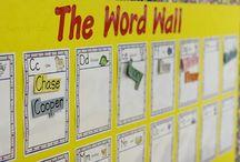 {Classroom Literacy} Word Wall