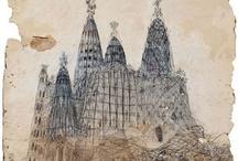 Antoni Gaudi - Desenho / Drawing