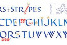 Holiday Calligraphy / Seasonal alphabets, letters, and designs to enjoy and share all through the year.