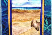 landscape quilts / by Carol Mercer