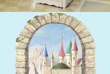Decoración De Habitación De Princesa
