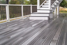 Bamboo Composite for decking 100% recycled material / La Maison du Bamboo is proud to introduce the ultimate in outdoor decking. Made from 100% recycled materials, BamDeck™ Composite has more than twice the density, strength and durability characteristics as other composites and is the only one made from 60% recycled bamboo fibers and 40% recycled plastics. BamDeck™ Composite is the Green choice in outdoor decking. Low maintenance: no sealing, painting, or refinishing…EVER!