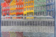 Art quilts I admire