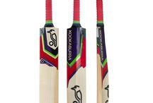Cricket bat / Kookaburra bat red,yellow and blue