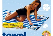 Styles/Great Ideas / Hide personal items in your Towel Down, a beach towel, back pack, tote and much more all in one!