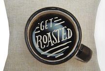 coffee coffee coffee pillows