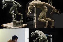 Monster creature design
