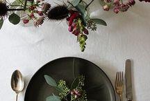 Christmas - set the table