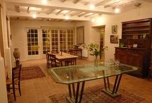Entertaining at Le Logis Bed and Breakfast, France / A charming Bed and Breakfast in a delightful riverine village in country France - ideal for group stays, family reunions & get-togethers...