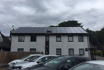 The Wild Boar Hotel - 19.75kW solar PV / Here are the new images from our 19.75kW solar PV installation at The Wild Boar in The Lake District during September 2015.