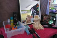 hairdresser role play area