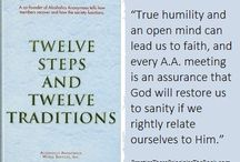 The Virtue of Faith / Quotes about the virtue of faith, one of the spiritual principles embodied in the 12 Steps of Alcoholics Anonymous and related recovery fellowships. Accompanying text and resources on website.