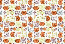 pattern3 / こちらの作品は全てリピート(送り)が付いています。
