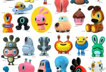 Urban vinyl / Designer toys, forms and icons