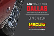 Dallas 2014 / Mecum Dallas 2014 Classic and Collector Car Auction this September 3-6 to feature 1,000 vehicles at the Kay Bailey Hutchison Convention Center.