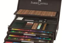 Art & Graphic - Professional Artists Supplies / Faber-Castell's classic Art & Graphic products are of the highest quality for professional artists. These products, including graphite, color and watercolor pencils, charcoals, artist pens, oil pastels and more offer unlimited opportunities for creative expression and design.