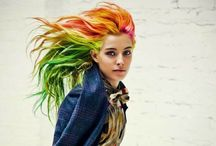 Rainbow Hair Colors / Rainbow Hair Colors