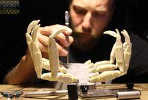 Dieselpunk WW2 / 1:35 100% Scratch maquette  by Bebek's Diorama