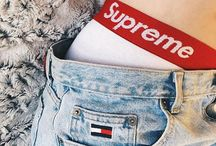 dressed by: supreme