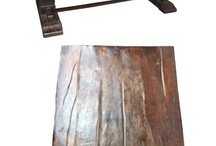 Dining Furniture / Solid wood dining tables. Some made with recycled wood or reclaimed wood. Mostly imported from India to San Diego Rustic Furniture warehouse. We also do amazing one of a kind custom orders.