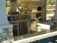 Pool & Fire place