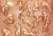 Dametegninger