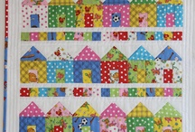 Quilt blocks-Houses