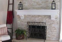 Fireplace Remodel - Hurricane Harvey