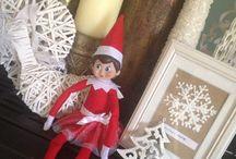 Holly the happy Sciberras Elf / The adventures of Holly