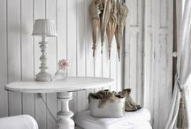 Muebles blanco puro