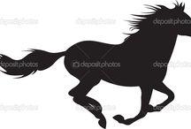 kresba horse
