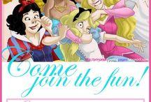 Festa de princesas Disney